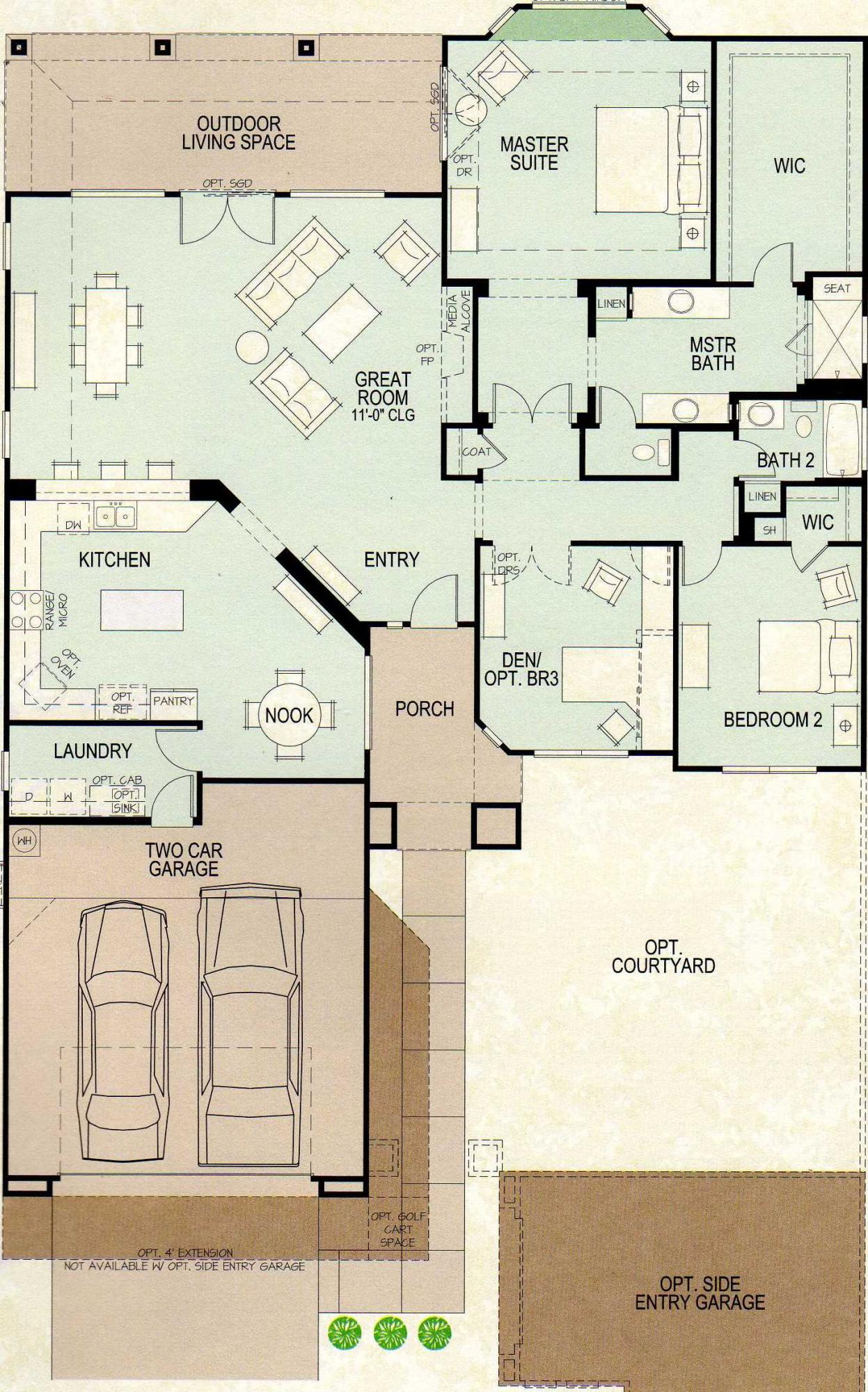 Sienna 2622 Floor Plan