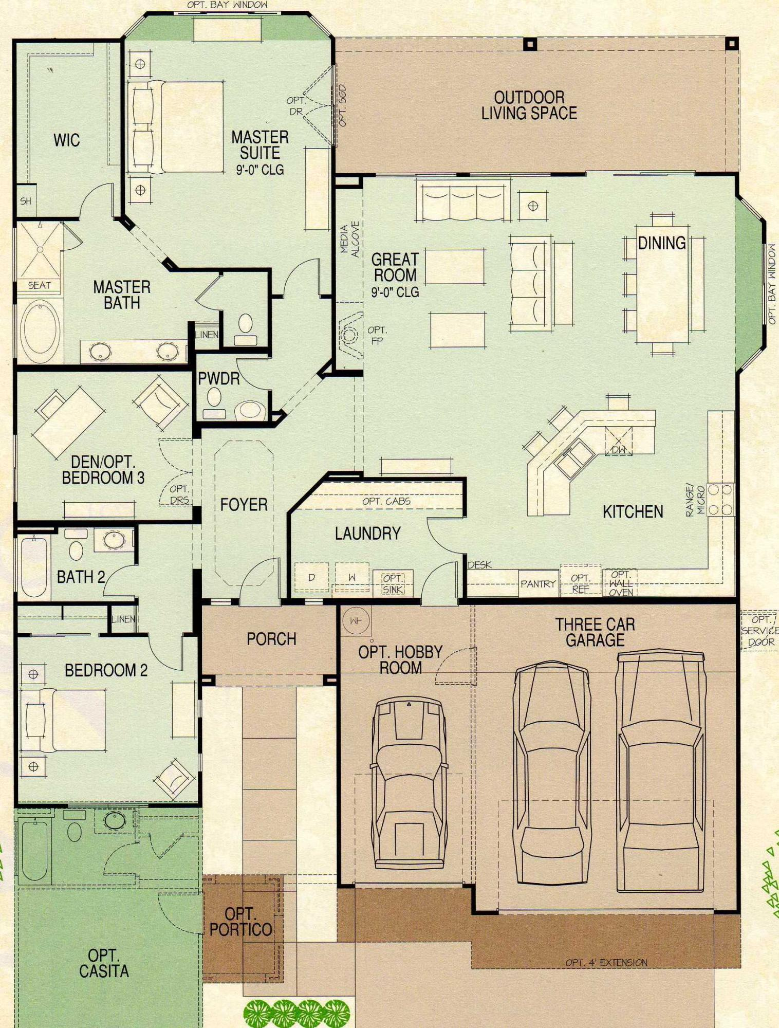 Talavera Floor Plan